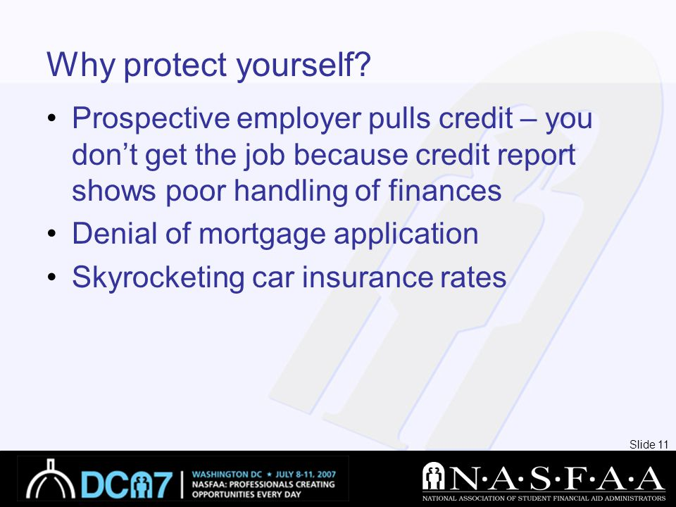 Slide 11 Why protect yourself.