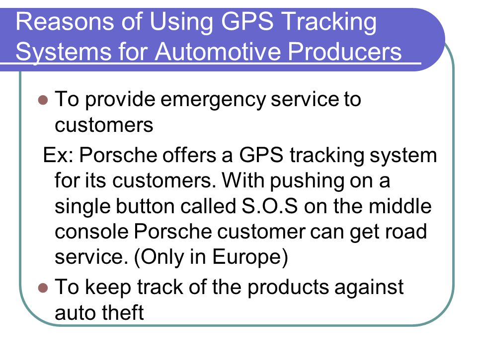Technology Used for VTS Instantaneous Location Targeting Positioning 2-3 metres with GPS Satellite Help Acknowledging the Position via GSM, SMS or Data Line Monitoring the Vehicle Online Tracking the position of the vehicle on digital maps via an online monitoring program