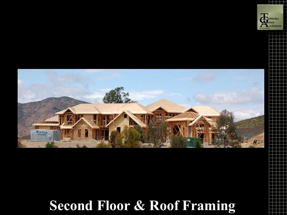 Second Floor & Roof Framing