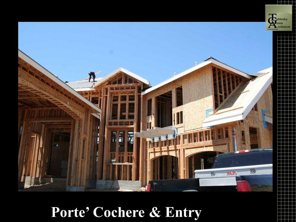 Porte' Cochere & Entry