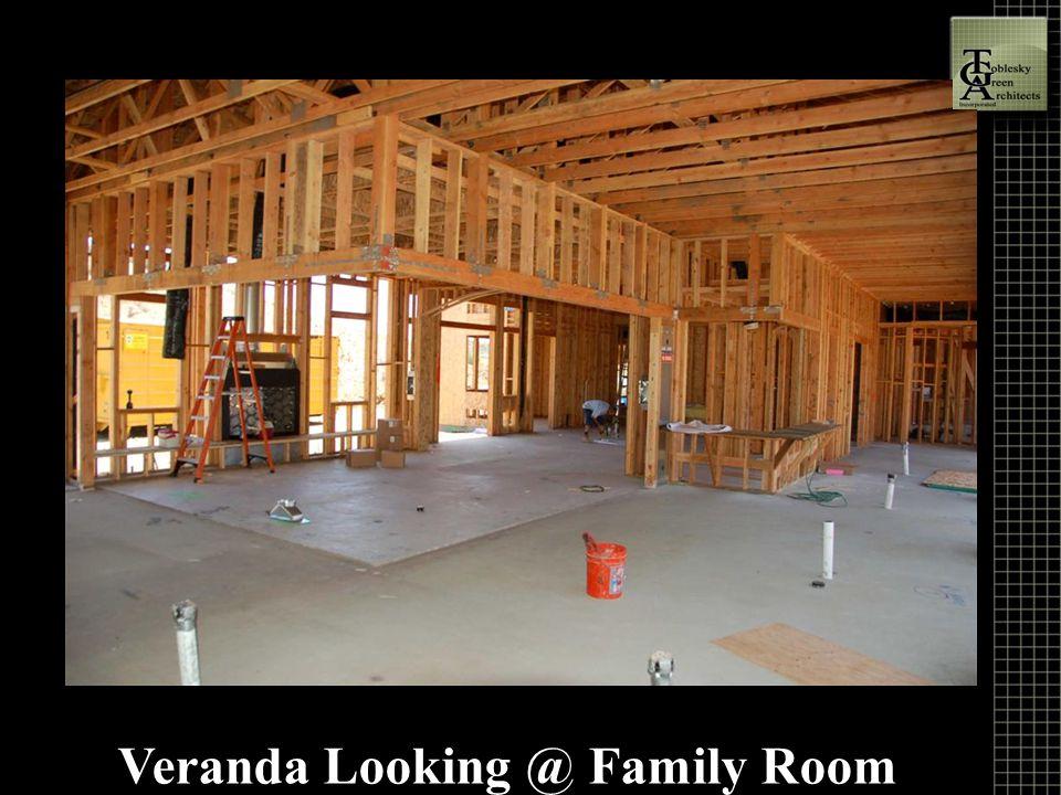 Veranda Looking @ Family Room