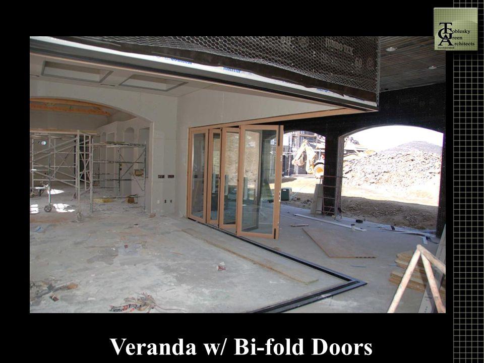 Veranda w/ Bi-fold Doors