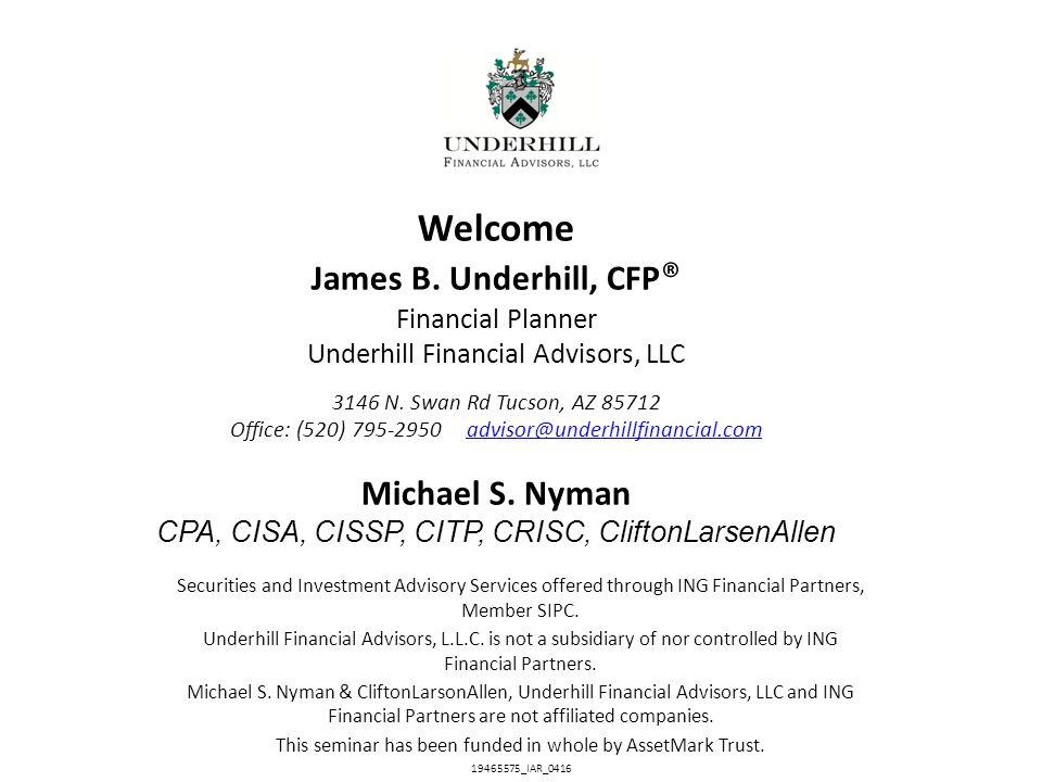 ©2013 CliftonLarsonAllen LLP Your Personal Information Is Where.