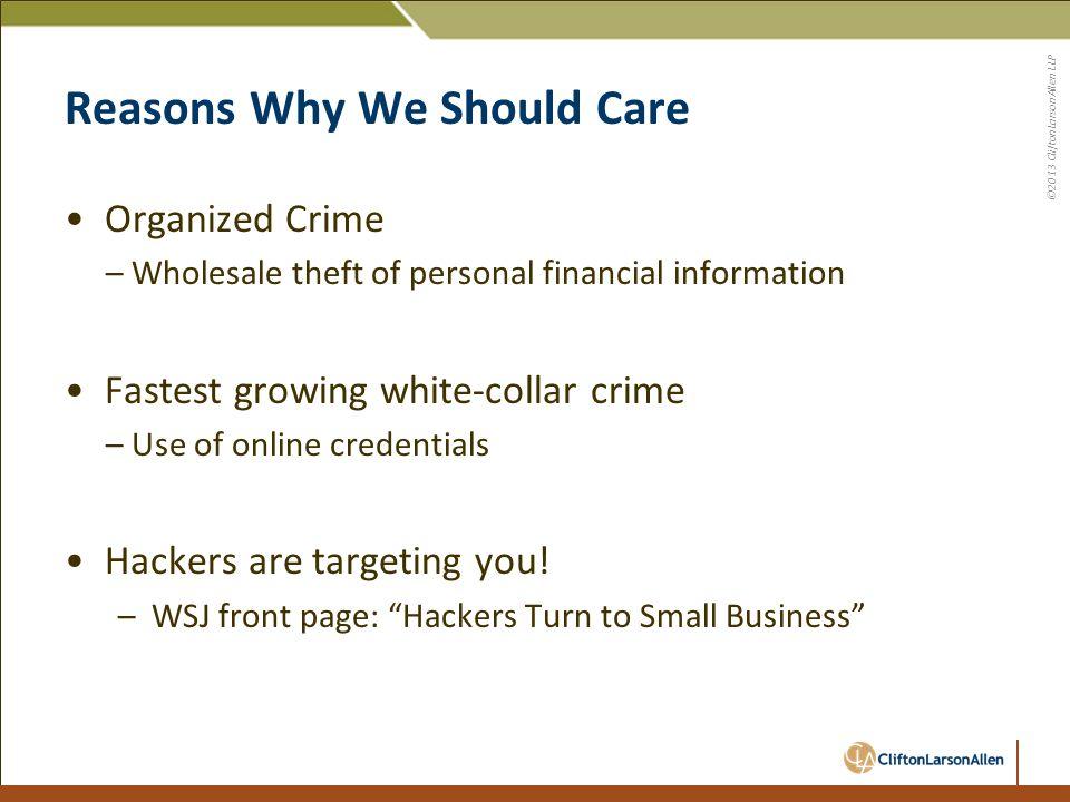 ©2013 CliftonLarsonAllen LLP Verizon – Threat Vectors