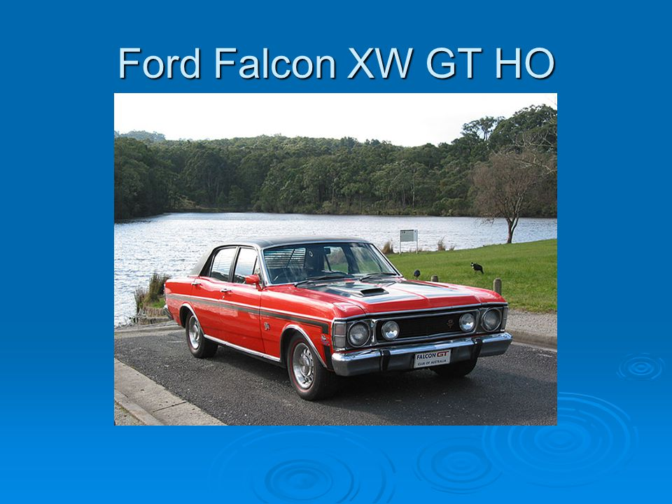 Ford Falcon XW GT HO