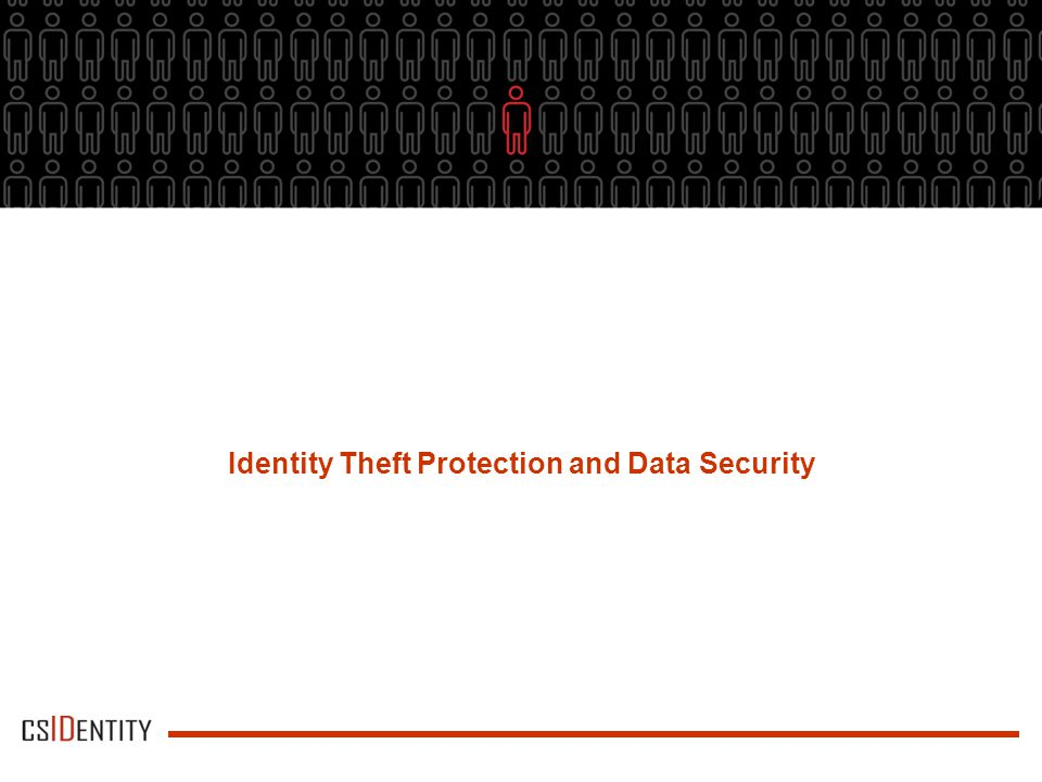 Identity Theft Protection and Data Security
