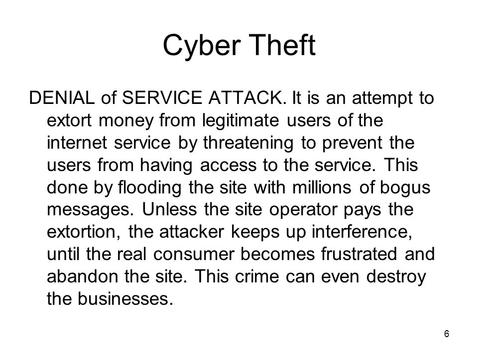 17 Cyber Vandalism CYBER STALKING: It refers to the use of internet, e-mail or other electronic communication devices to stalk another person.