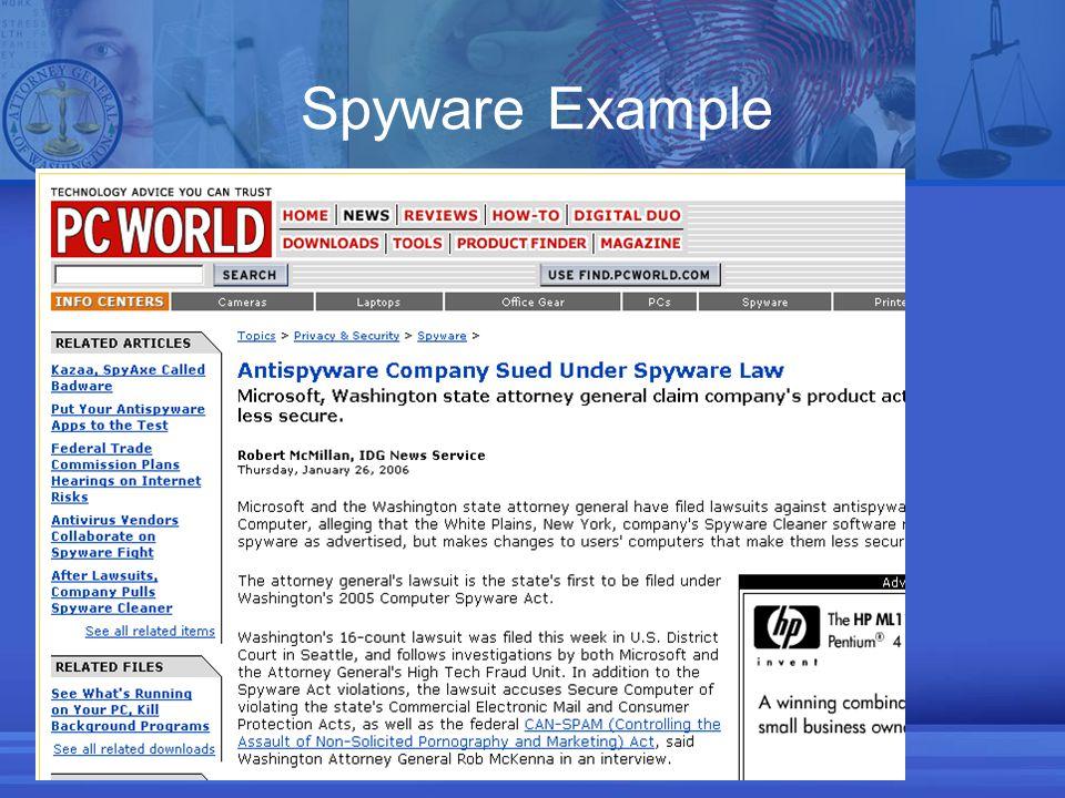 Spyware Example