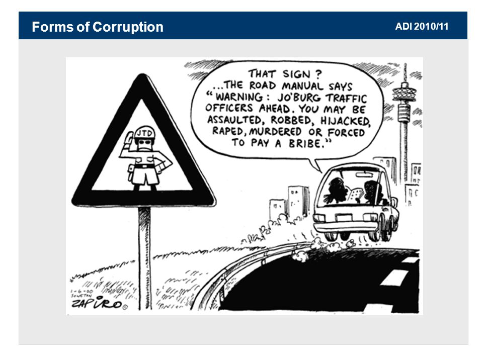 ADI 2010/11 Forms of Corruption