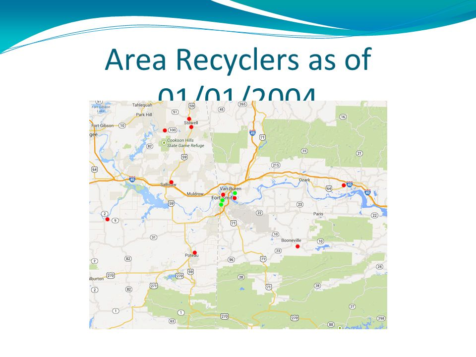 Area Recyclers as of 01/01/2004