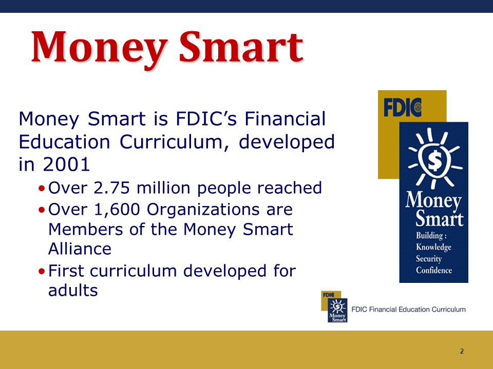 3 Money Smart Curricula Adults Young Adults Elementary School Students Young People Older Americans Small Business School