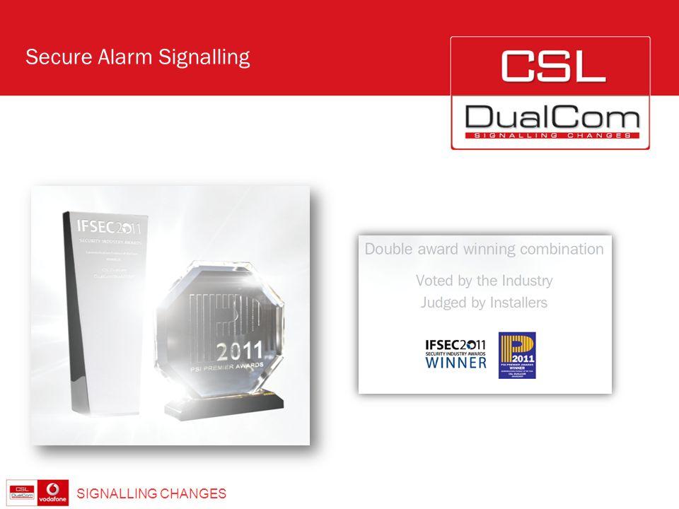 ® SIGNALLING CHANGES Secure Alarm Signalling