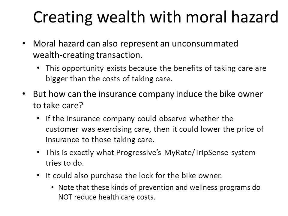 Moral Hazard or Adverse Selection.