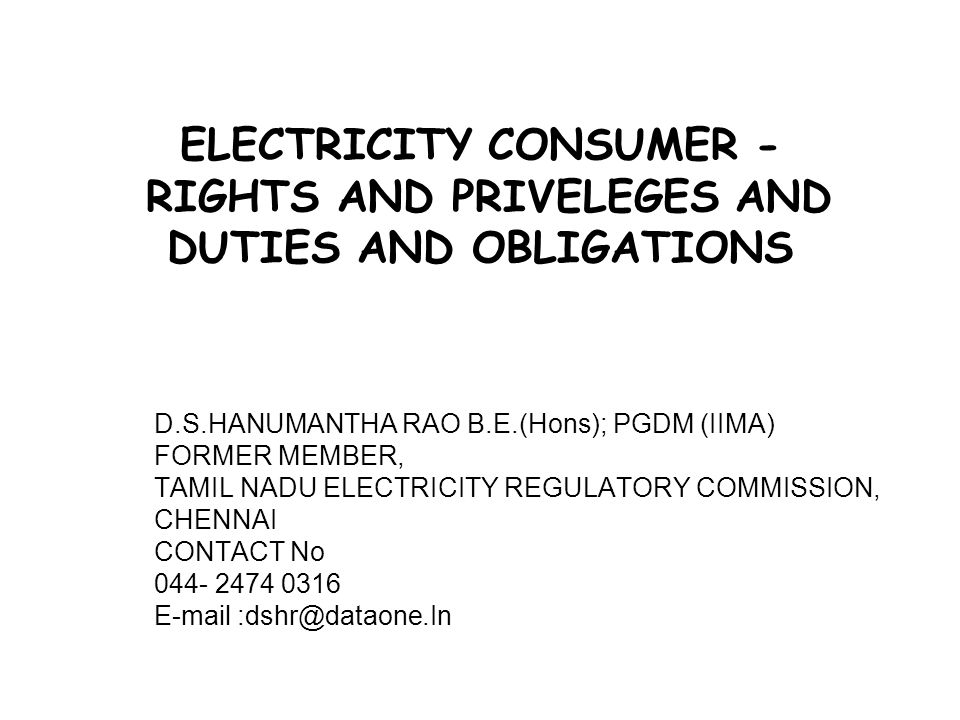 42 Section 50 of the Electricity Act, 2003 specifies that the supply code shall provide for (1) recovery of electricity charges, (2) intervals for billing of electricity charges, (3) disconnection of supply of electricity for non-payment thereof, (4) restoration of supply of electricity, (5) tampering, distress or damage to electrical plant, electric lines or meter, (6) entry of distribution Licensee or any person acting on his behalf for disconnecting supply and removing the meter, entry for replacing, altering or maintaining electric lines or electrical plant or meter etc
