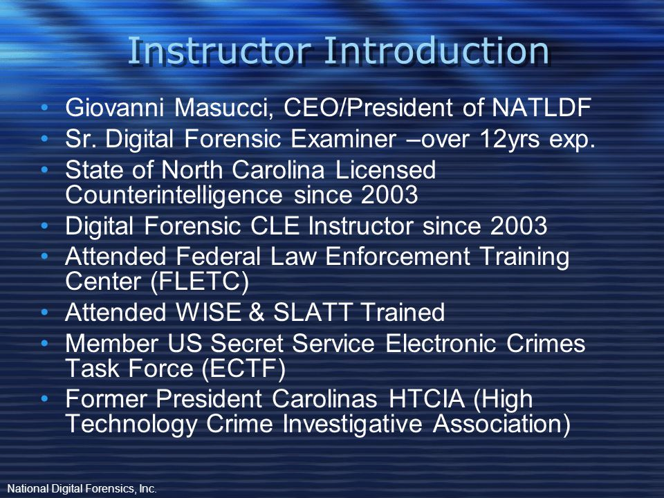 Intellectual Property Theft & Data Breaches from within the Workplace Presented by: GIOVANNI MASUCCI, 132-CI, BCE, MPCE, CCITP,CCPE To: North Carolina Paralegal Association Wrightsville Beach North Carolina March 21, 2014 Proprietary.