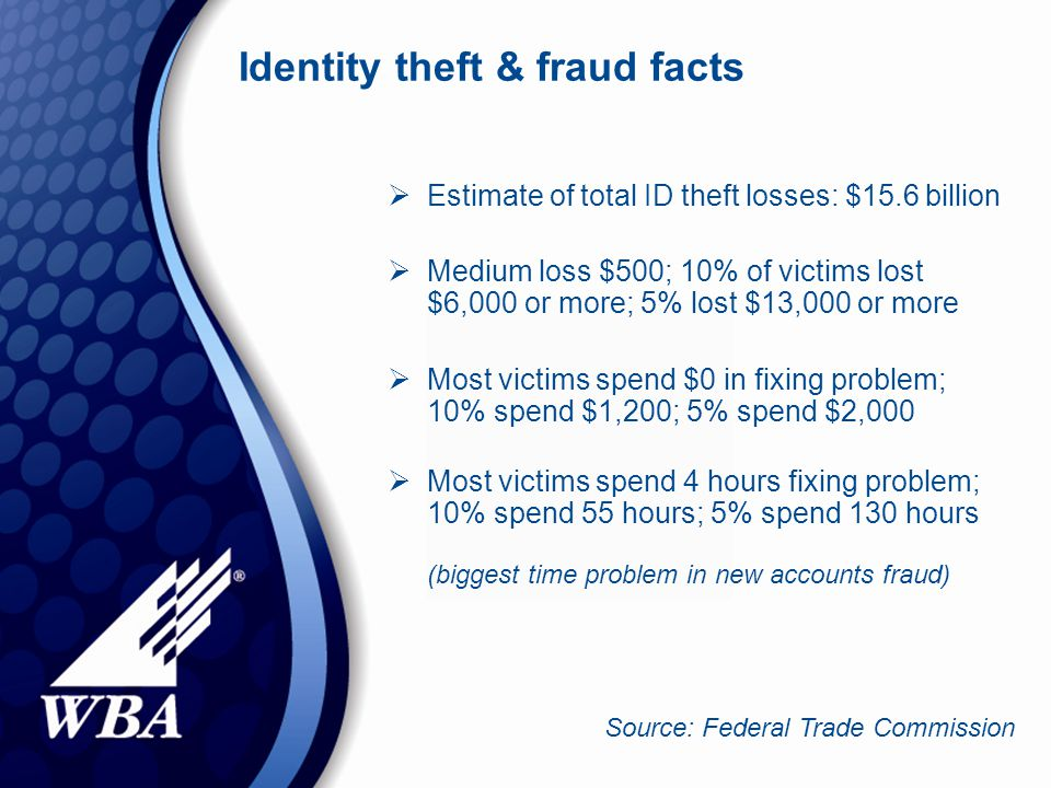 ID theft consumer tips  Review your credit report every 6 -12 months.