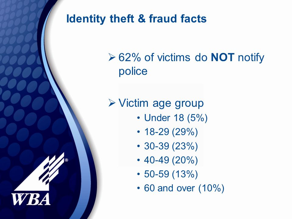 ID theft consumer tips  Make sure you do business with reputable companies, especially on the internet.