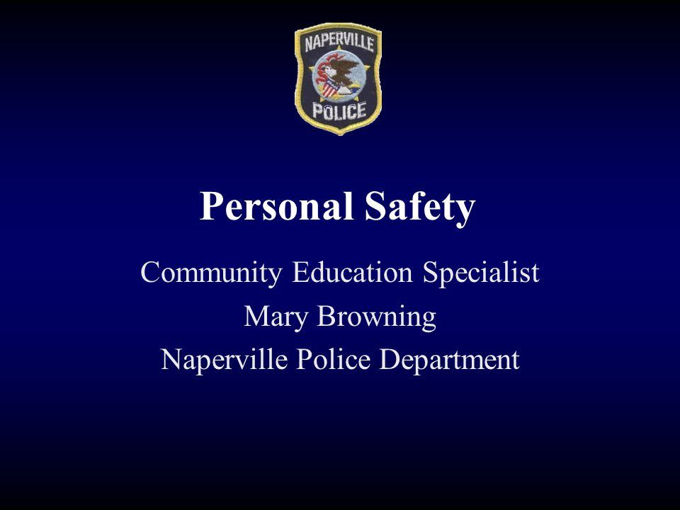 Any Questions? Call the Naperville Police Department 630-420-6666