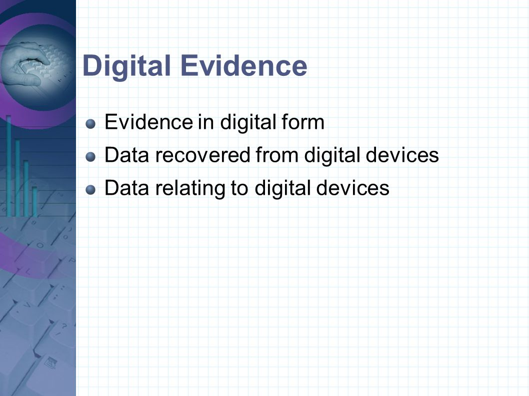 ACPO principles 4 principles relating to the recovery and investigation of computer based evidence intended to guarantee the integrity of evidence and allow accurate replication of results remove doubt / opportunity for challenge in court