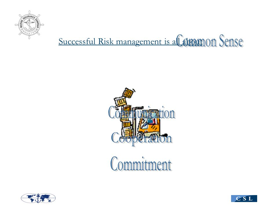 Risk management isSuccessful all about