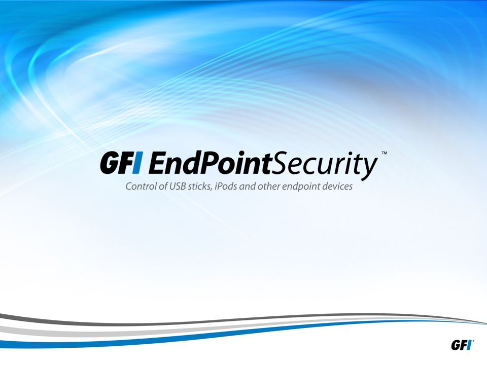 12 GFI EndPointSecurity configuration options Product snapshot (2/3)