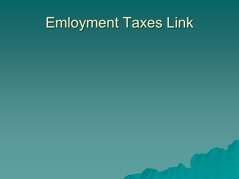 Emloyment Taxes Link