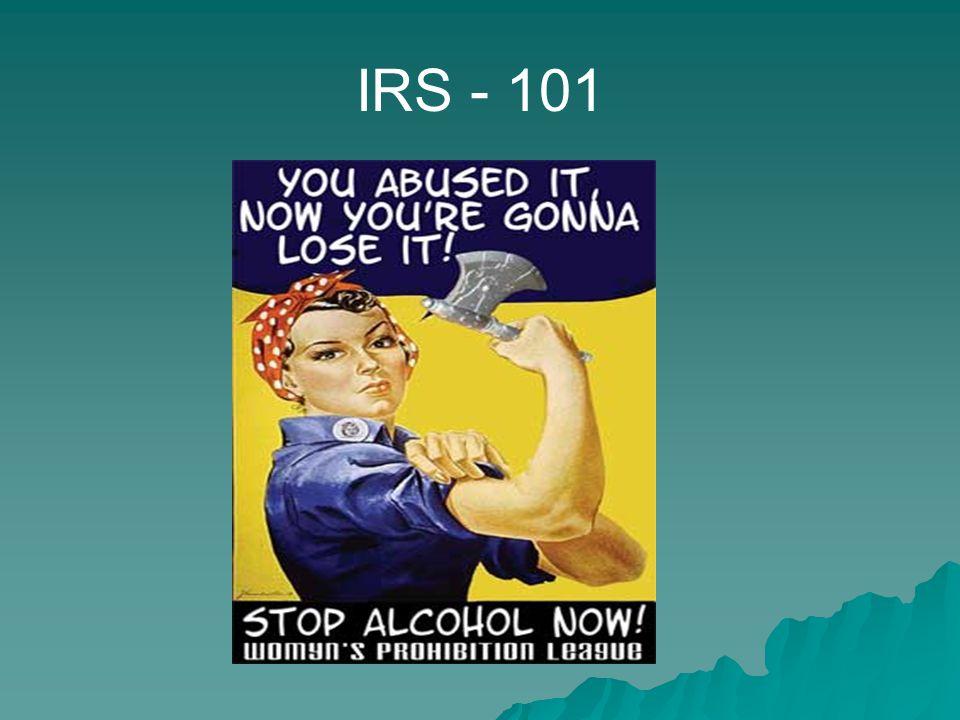 IRS - 101