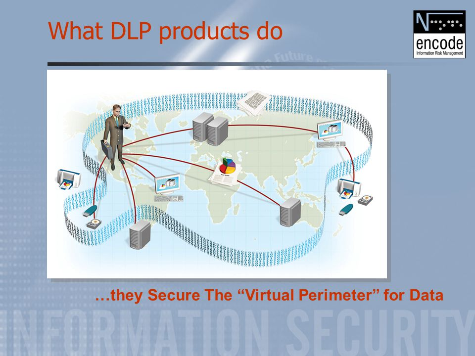 "What DLP products do …they Secure The ""Virtual Perimeter"" for Data"