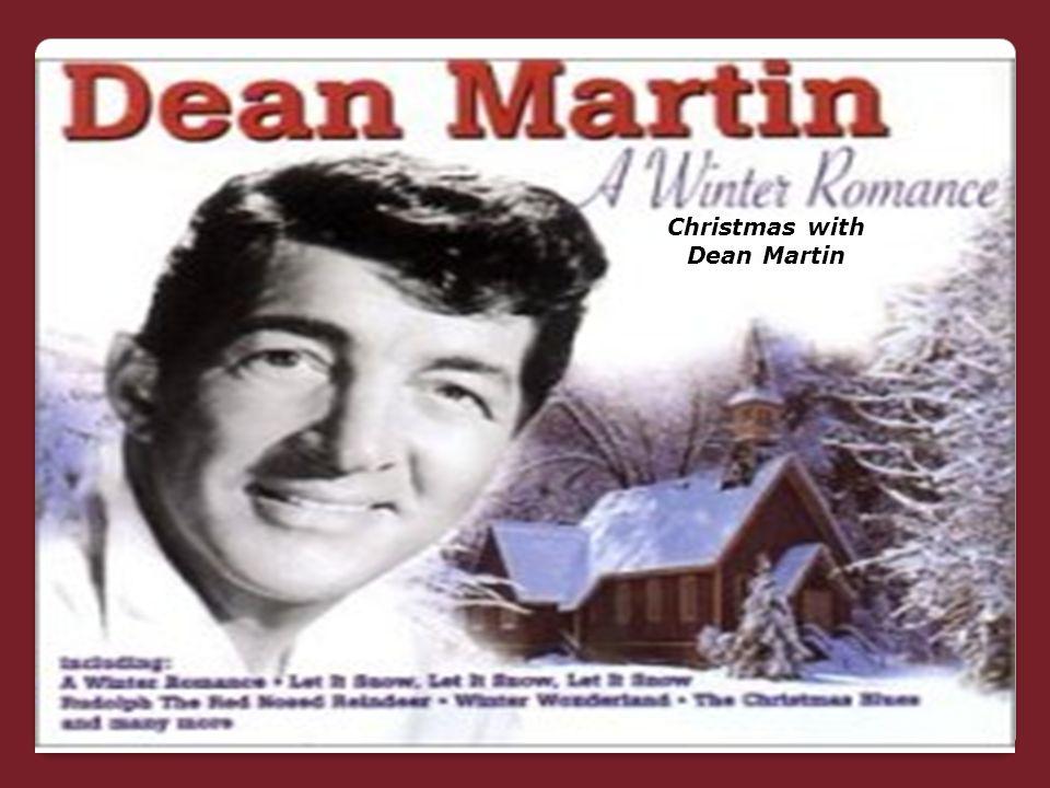 Christmas Christmas with Dean Martin