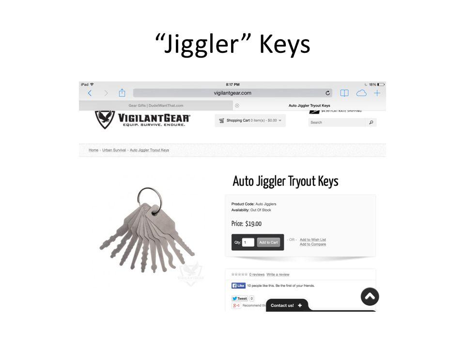 """""""Jiggler"""" Keys"""