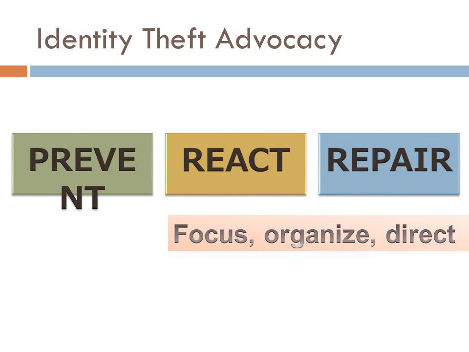 Identity Theft Advocacy