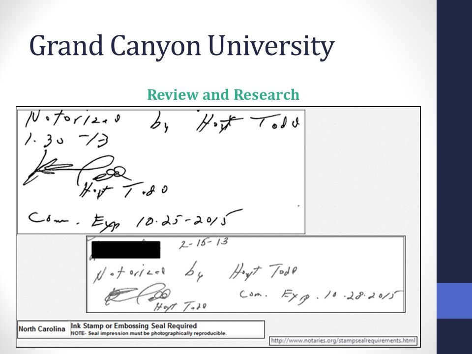 Grand Canyon University Review and Research