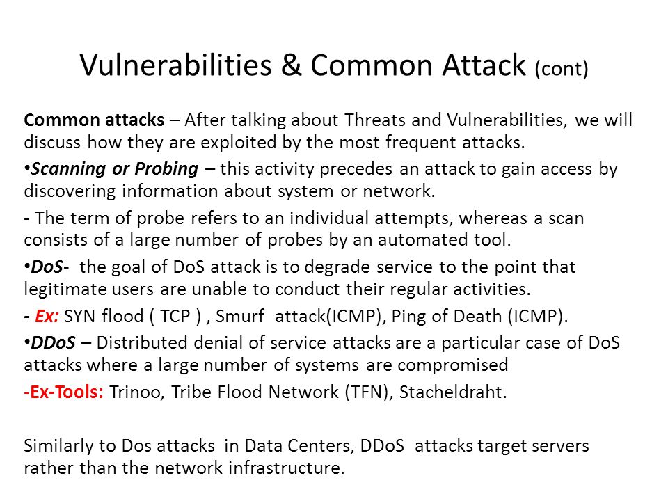 Security Fundamentals (cont) VPN – Virtual Private Networks.