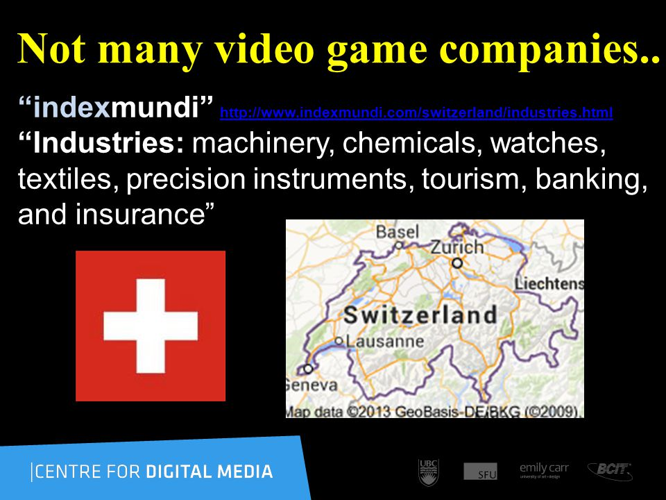 Not many video game companies..