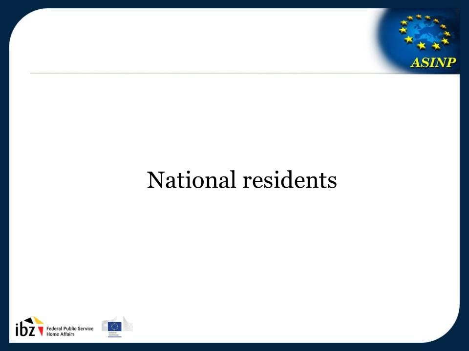 5-6/12/2013 25 National residents