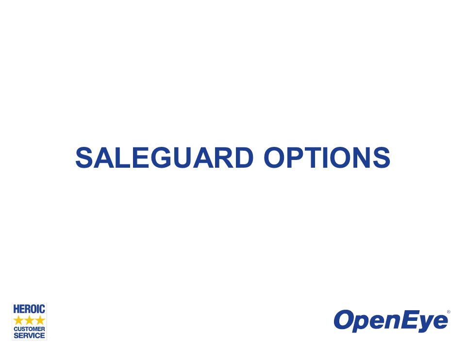SALEGUARD OPTIONS