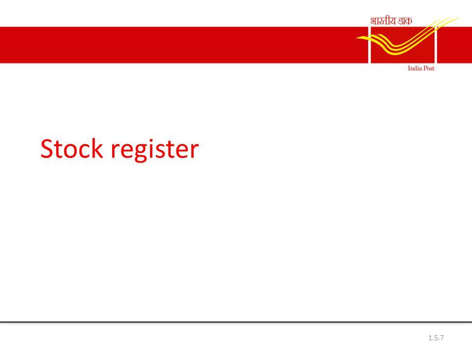 Stock register 1.5.7