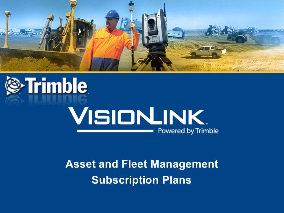 Asset and Fleet Management Subscription Plans