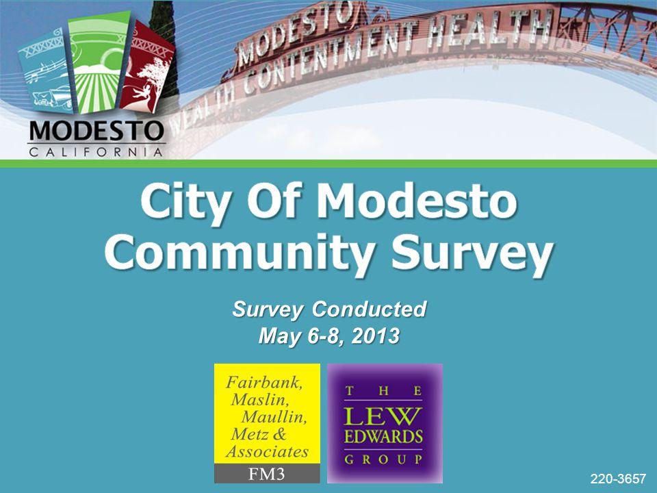 220-3657 Survey Conducted May 6-8, 2013