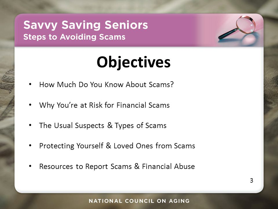 How Much Do You Know About Scams.