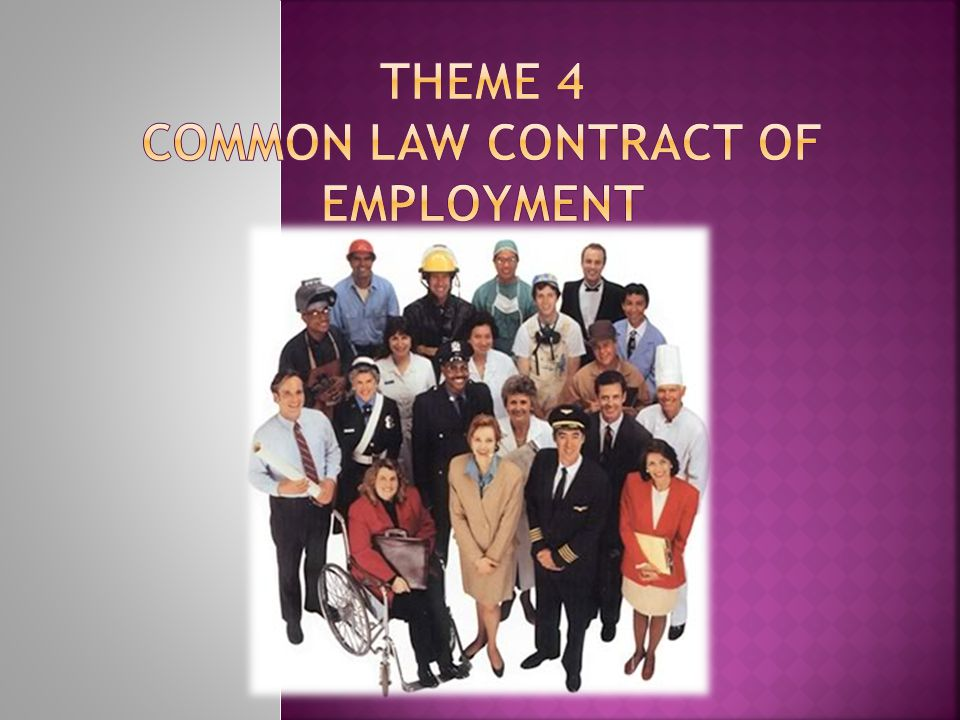  A contract of employment is reciprocal contract 1.