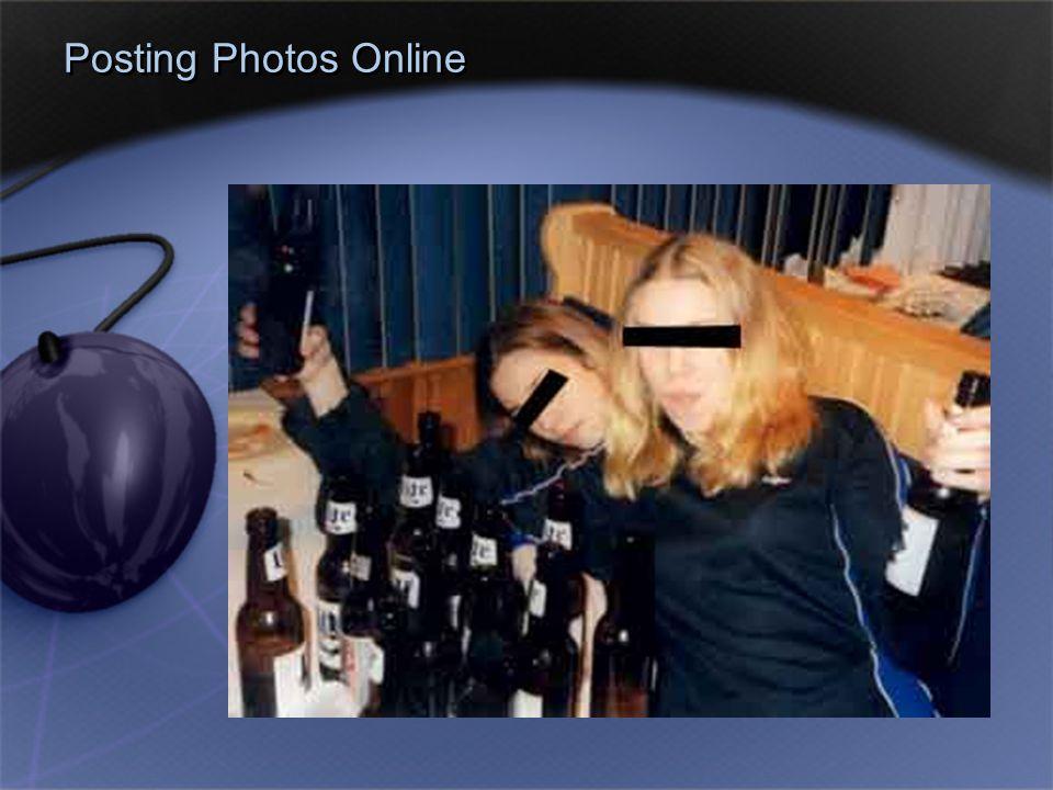 Posting Photos Online