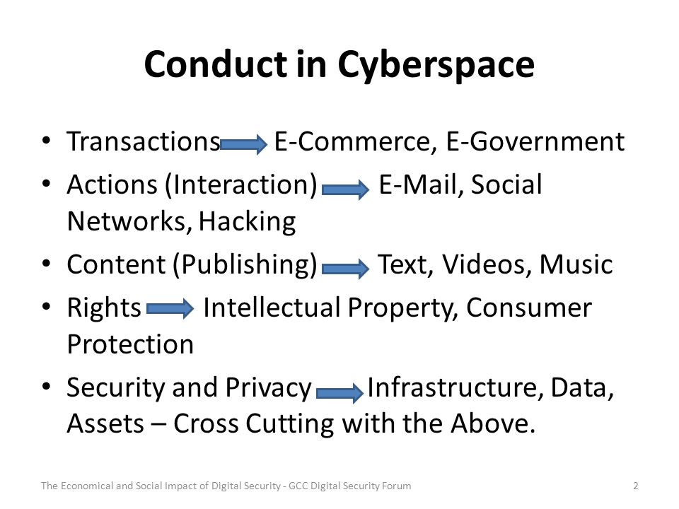 Cyber Threats ThreatsTargets Against information Against ICT infrastructures Governments Private sector Citizens 3The Economical and Social Impact of Digital Security - GCC Digital Security Forum