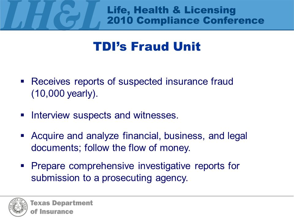 Elements of a Comprehensive Suspected Fraud Report  Tell us about who was involved in the fraud.