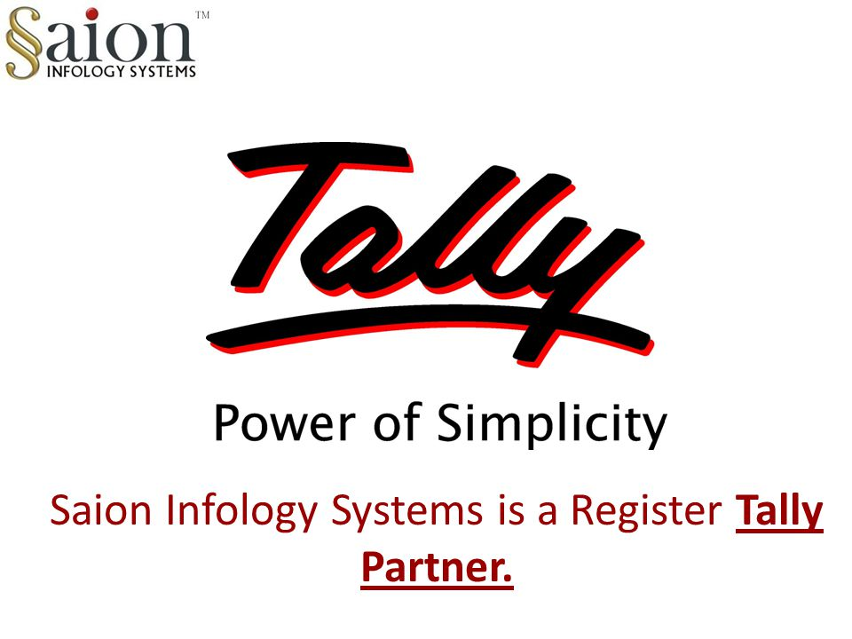 Saion Infology Systems is a Register Tally Partner.