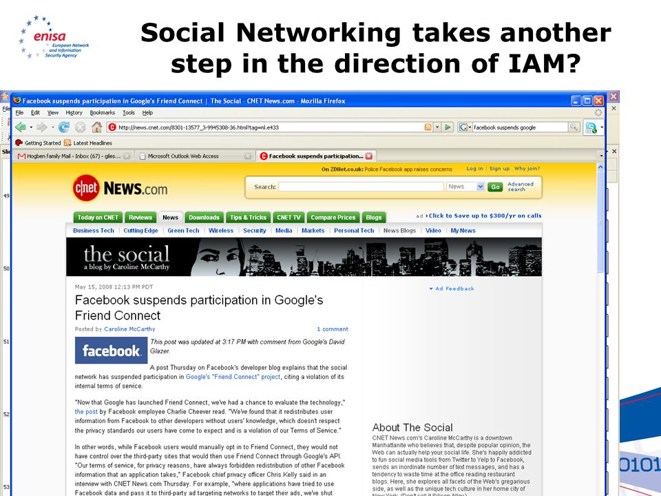 Social Networking takes another step in the direction of IAM?