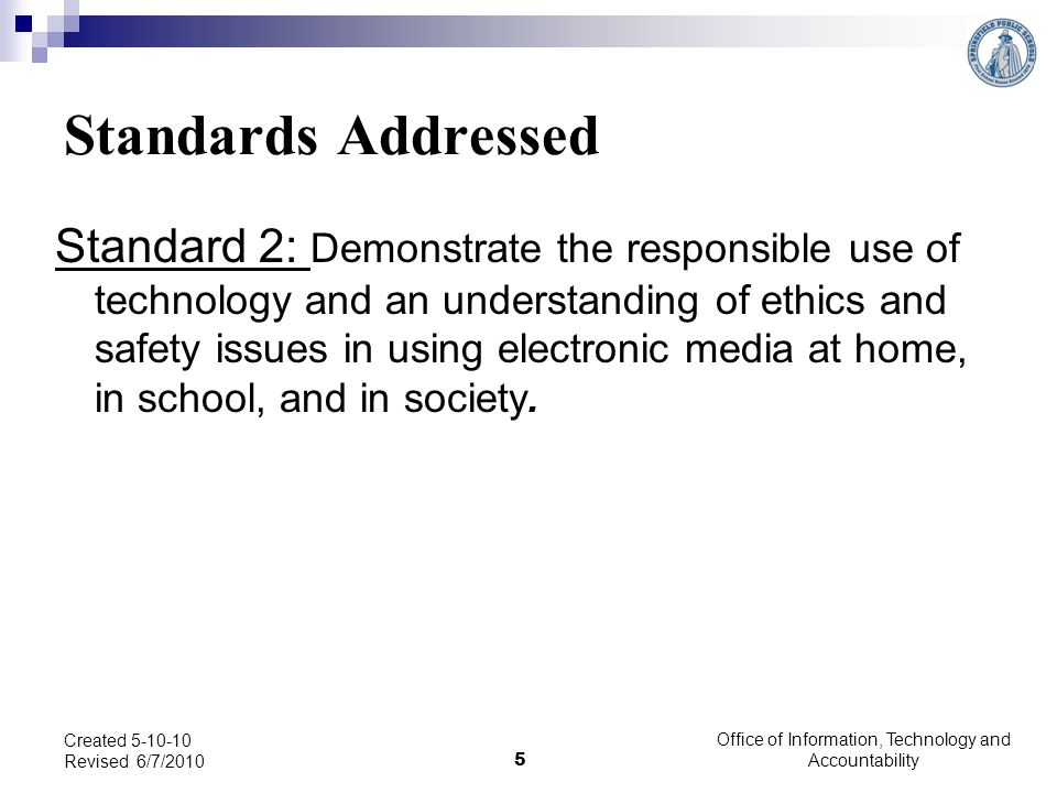 Are students using technology the way that it was intended or are they infringing on the rights of others.