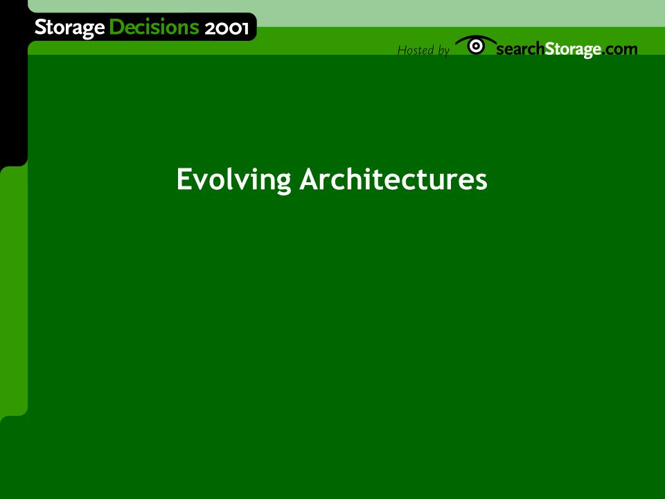 Evolving Architectures