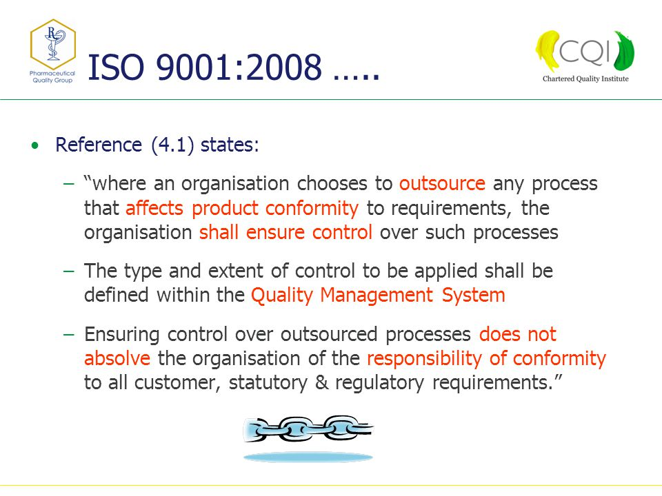 ISO 9001:2008 …..