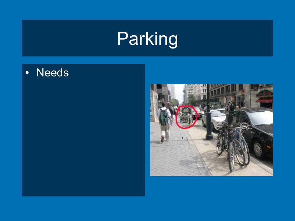 Parking Needs